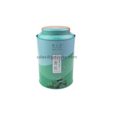 tin tea caddy