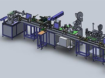 Assembly Line Automatic Laser Marking