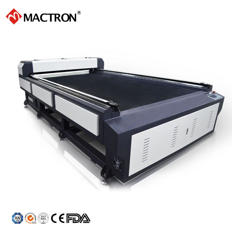 Metal laser cutting machine to create safe food machinery