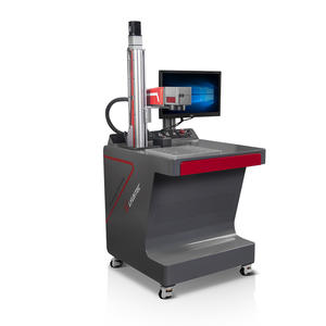 Electric lifting laser marking machine