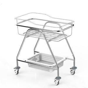 BPM-iB03 Stainless Steel Hospital Baby Cot