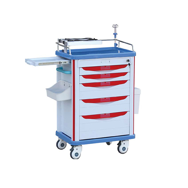 BPM-ET009H ABS Emergency Medical Trolley