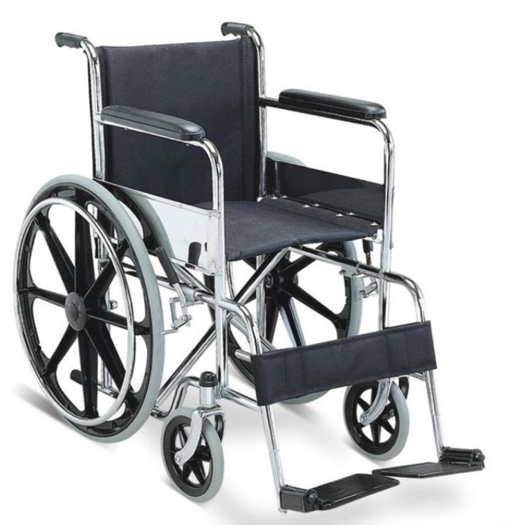 BPM-CH1 Steel Manual Wheelchairs For Sale