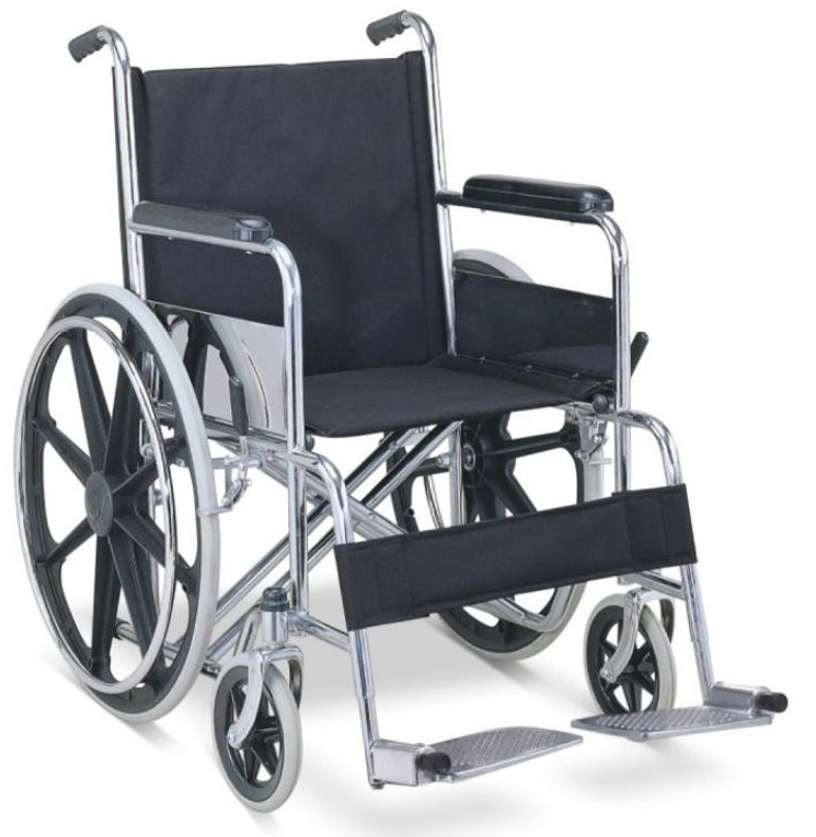 BPM-CH9 Steel Manual Wheelchairs For Sale