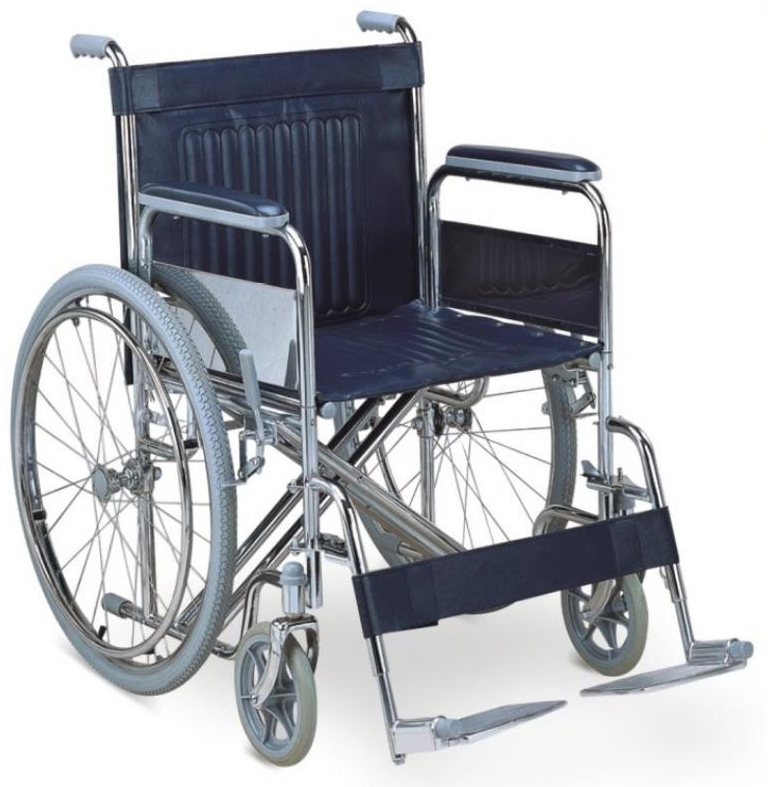 BPM-CH13 Steel Manual Wheelchairs For Sale