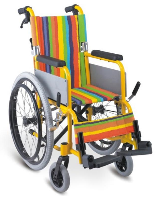 BPM-CH32 Aluminium Alloy Manual Wheelchair