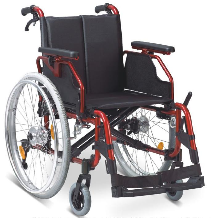 BPM-CH40 Aluminium Alloy Manual Wheelchair