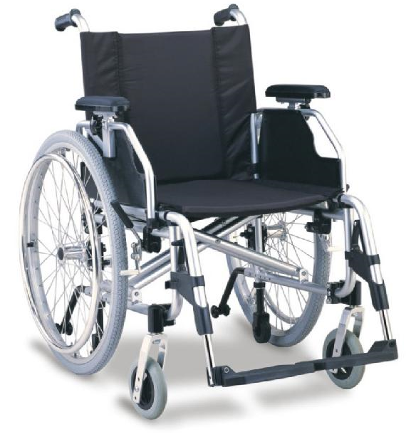 BPM-CH39 Aluminium Alloy Manual Wheelchair