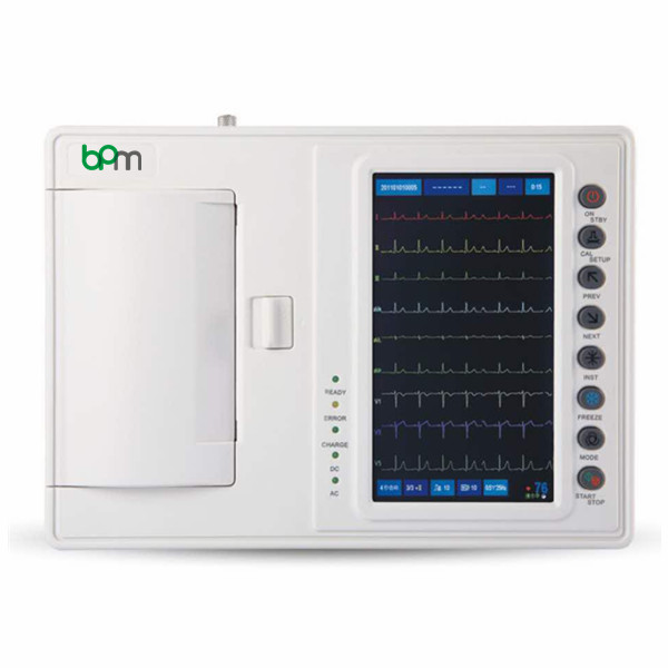 BPM-E604 Touchscreen Six Channels ECG Machine