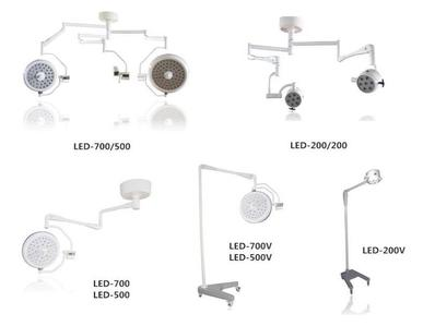 Removable LED Operation Shadowless Lamp features and unique advantages