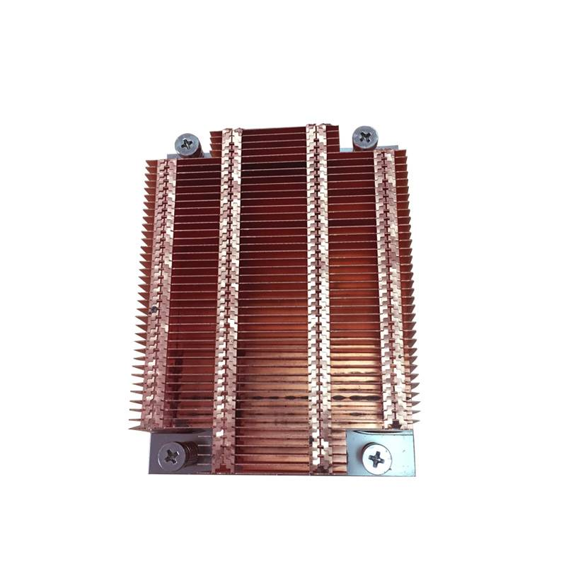 stacked fin heatsinks