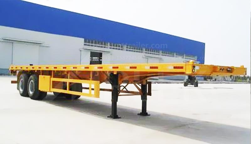 2-axle container semi trailers