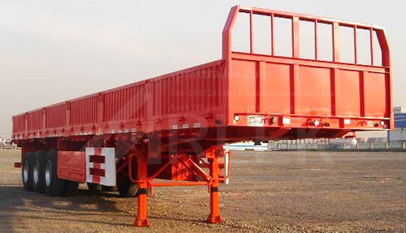 Lorry semit trailers