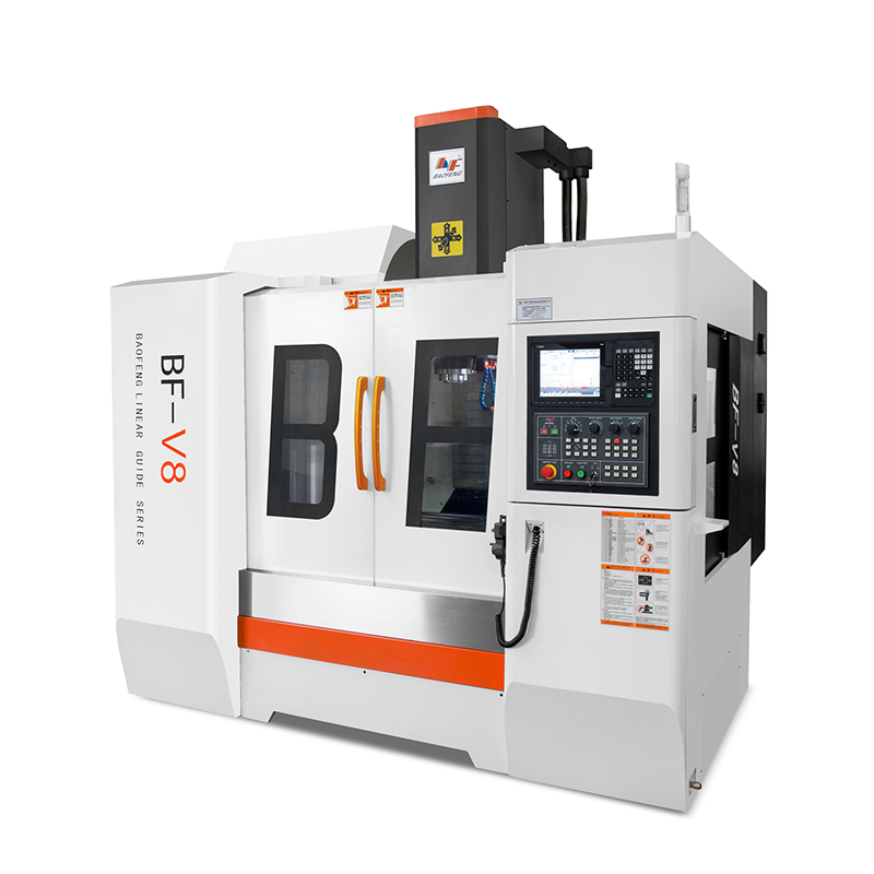 BF-V8 hard rail vertical machining center