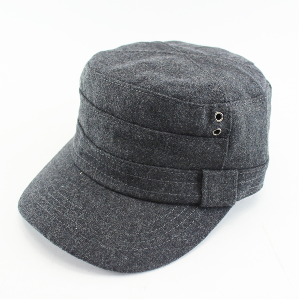 Military style blank 5 panel hat
