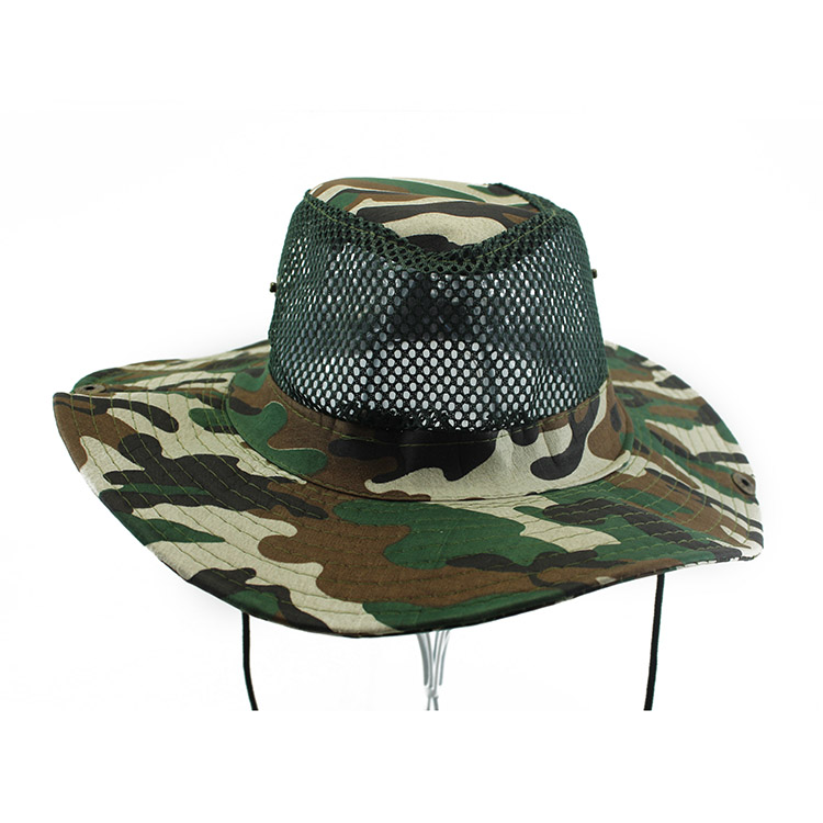 Breathable Camo bucket hats