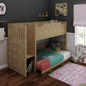 Hot Sale Kids Furniture Set Wood Child Bunk Beds