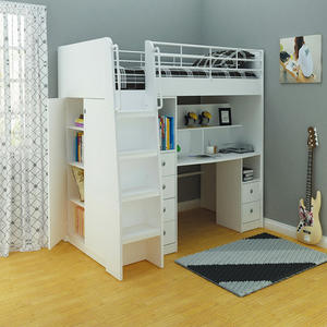 Kids Beds With Stairs, Style Bunk Bed, Children Bunk Bed