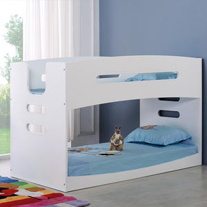 Girls White Wood Bedroom Furniture Solid Wood Kid Bed