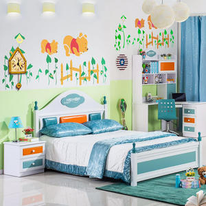 Boy Bedroom Furniture Set Kids Child Bunk Bed Set