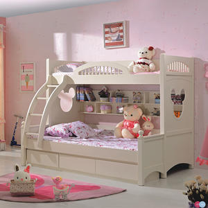 Fasnionable Children Bedroom Furniture Sets  Bunk Bed With Distinctive Style