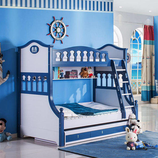 With Stair Kids Bunk Bed, Style Bunk Bed, Children Bunk Bed