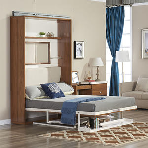 Save Spacing Italy Style Single Function Wall Bed