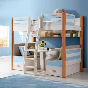 Custom Design Bed Room Furniture Kids Children Bedroom Bunk Bed