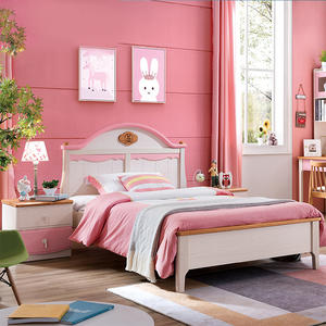 Princess Style Children Bed Kids Bedroom Furniture Sets For Boys And Girls