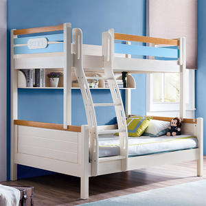 Wholesale Cheap Wooden Kids Bunk Bed Set