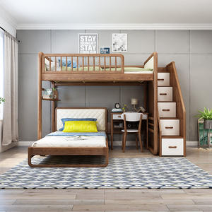 Space Saving Home Furniture Bed Design Home Furniture Bunk Bed With Desk