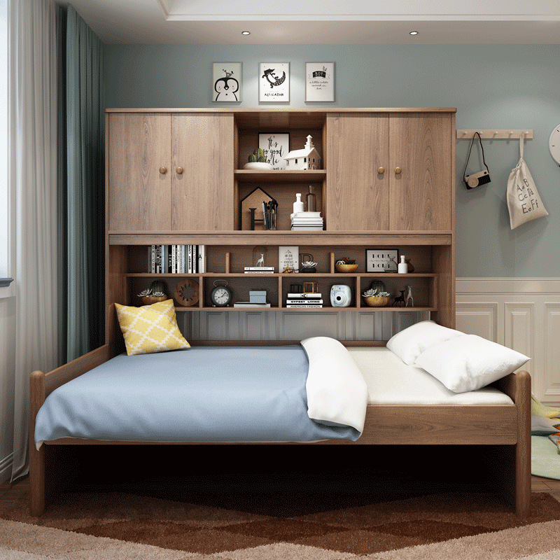 Green Bedroom Furniture Sets,Kids Bed With Wardrobe