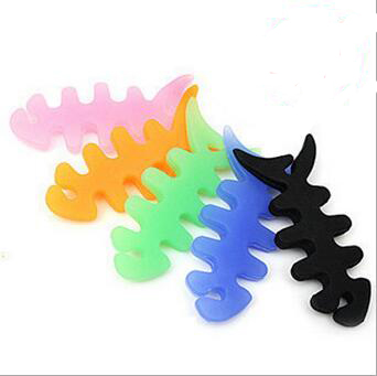 Wholesale custom Logo silicone cable winder