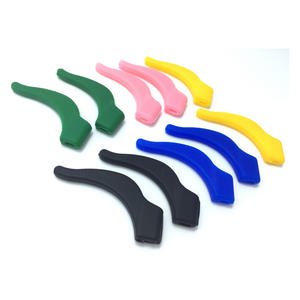 wholesale customized silicone sport glasses ear hooks protectors manufacturer
