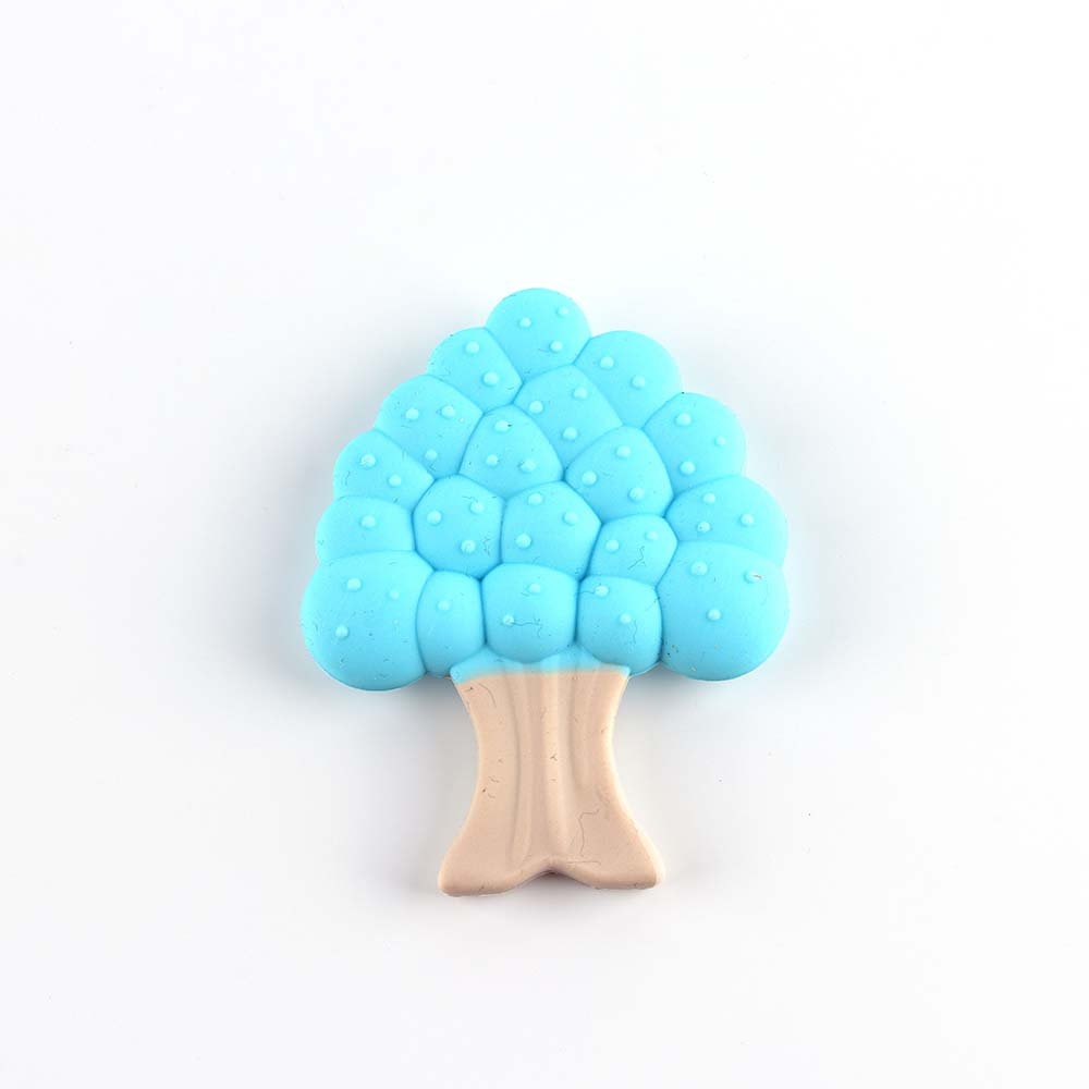 Silicone baby teething toys silicone tree teether