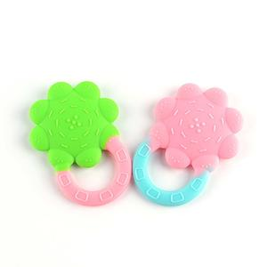 Silicone Baby Teething Toys Infant Flower Teether