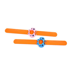 low price ODM wholesale custom rubber slap bracelets design manufacturer