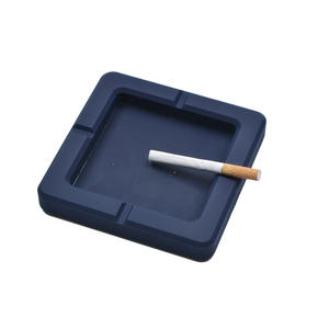 OEM wholesale Custom shape silicone rubber cigarette ashtray manufacturer