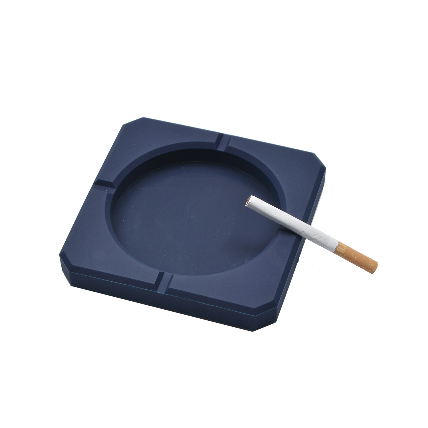 Wholesale Custom shape silicone rubber cigarette ashtray