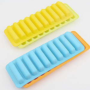 Customized Silicone Ice Tray Molds Rectangular Shaped Ice Cube