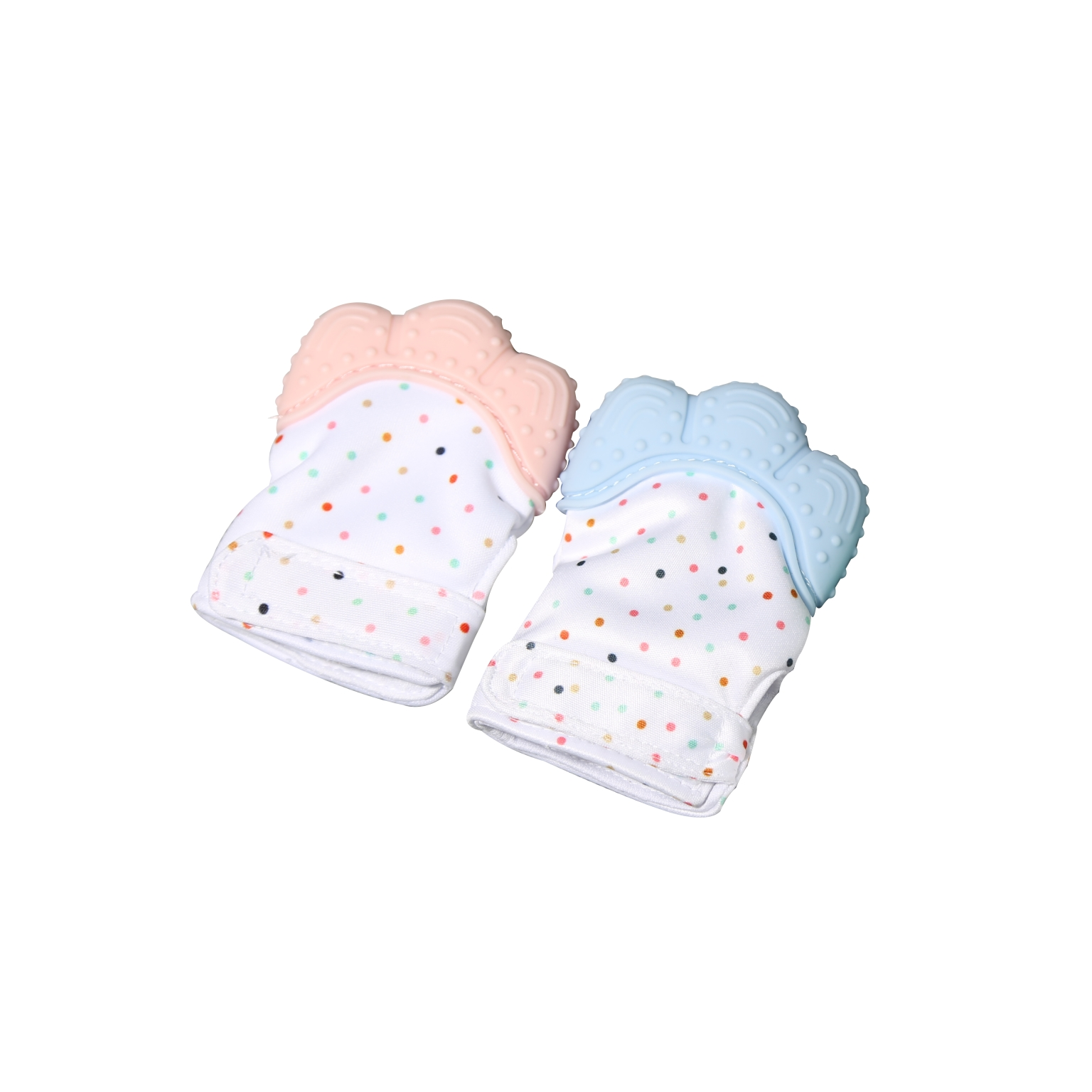 Newborn Baby wearable teething gloves Silicone wearable teething toys