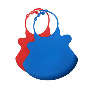 Customized Stylish And Functional Silicone Bibs For Baby Feeding