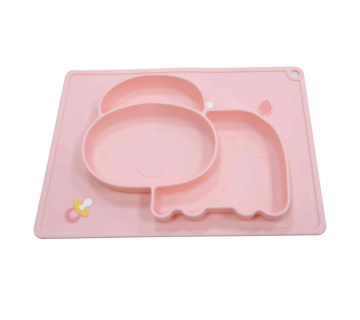 OEM Silicone Plate  Fits Most Highchair Trays