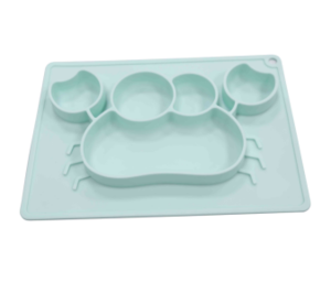 wholesale OEM silicone baby plate making manufacturer