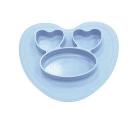 OEM silicone divided plates for Kids and Babies