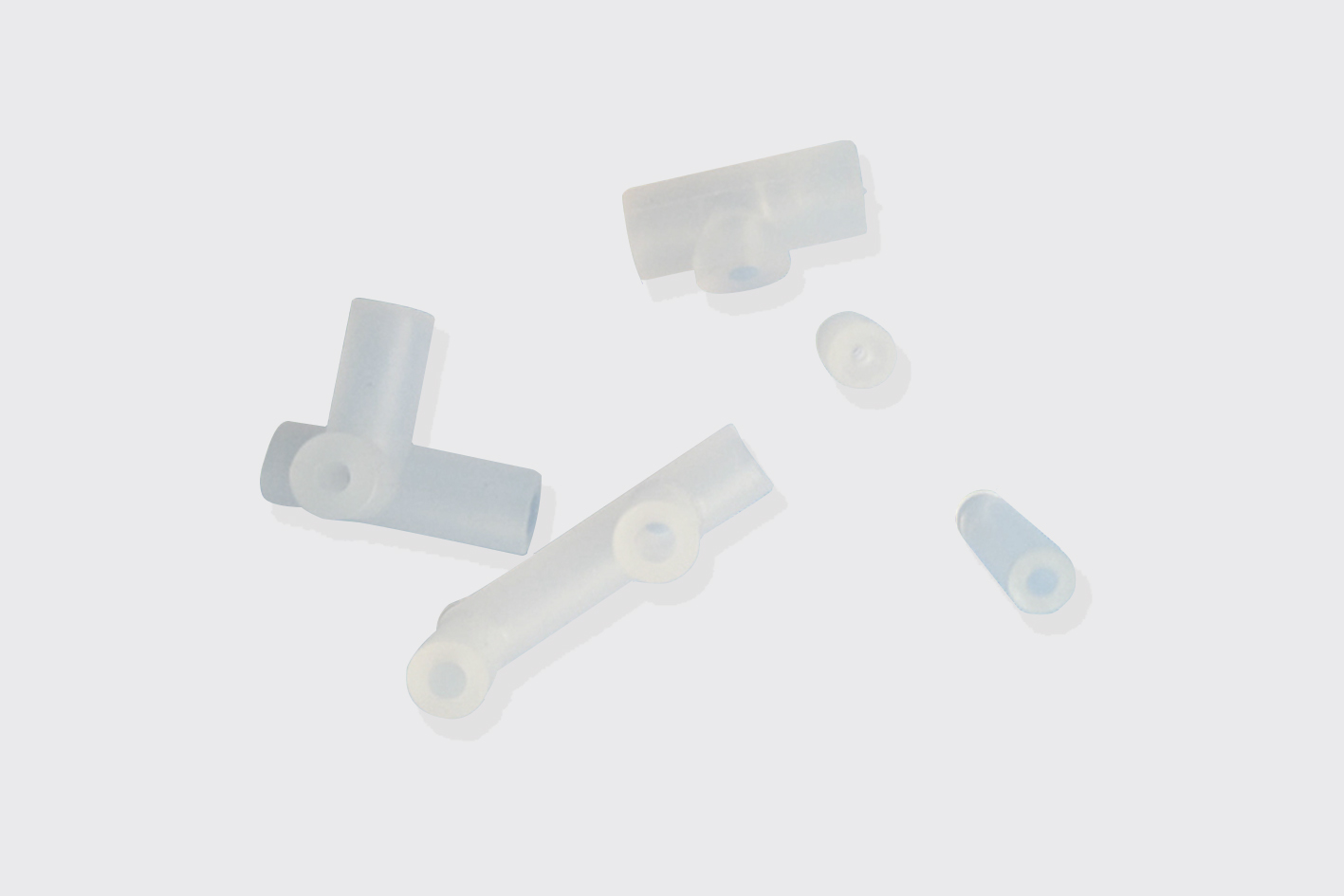 blood pressure silicone air hose connecter tube