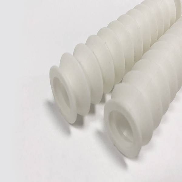 Medical silicone bellows tube customized