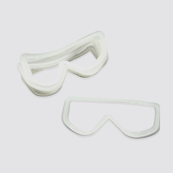 Medical silicone goggles