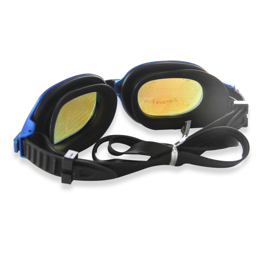Customized OEM silicone swimming glasses