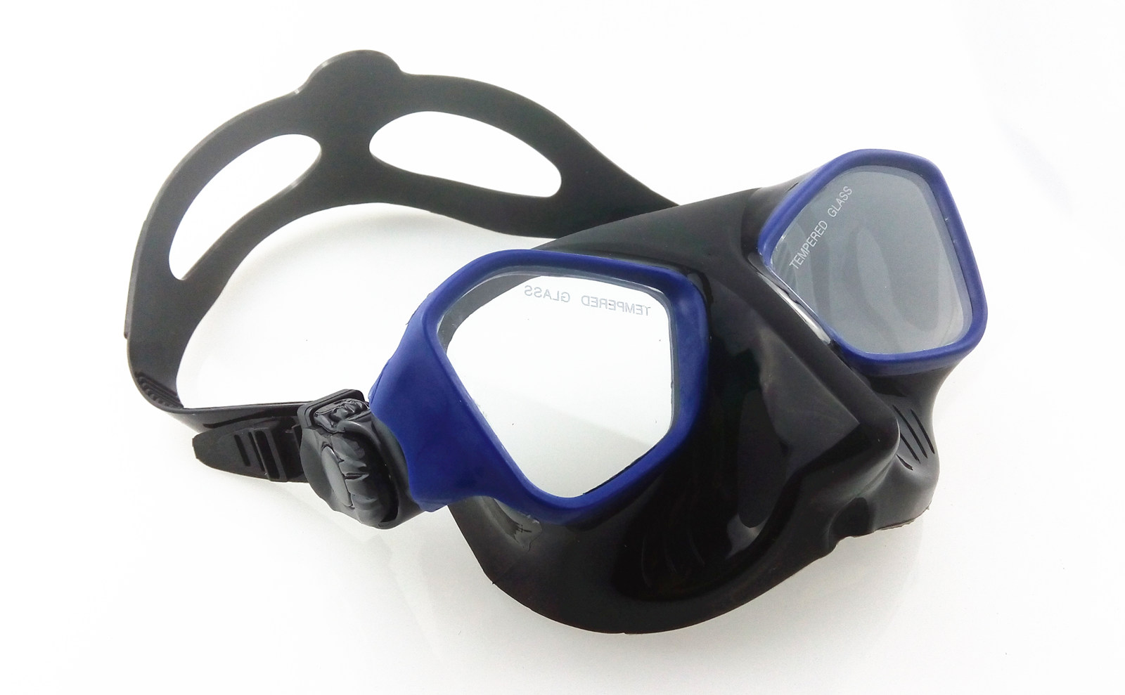 Soft silicone underwater breathing swimming diving goggles